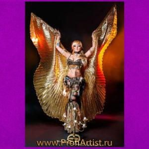Сольная исполнительница восточных танцев и танца живота ЭЛИС в Москве фото