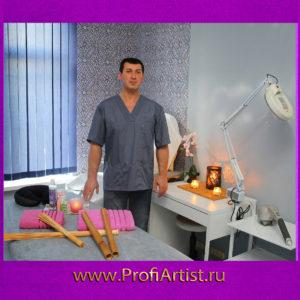 Профессиональный массажист на СПА девичник в Москве