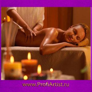 Релакс массаж тела на СПА девичник в Москве фото