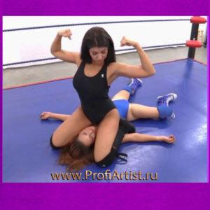 Шоу женских боёв «Ангелы Чарли» видео фото